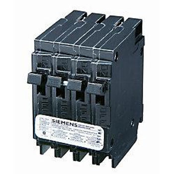 Siemens 15A and 15A 2 Pole 120V 240V Quad Type Q Breake