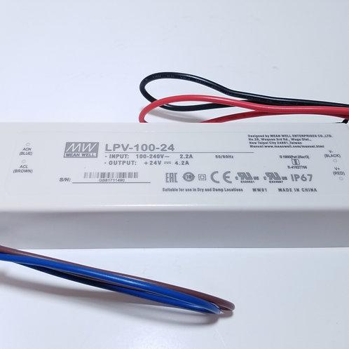 24V 100W Class 2 Power Supply
