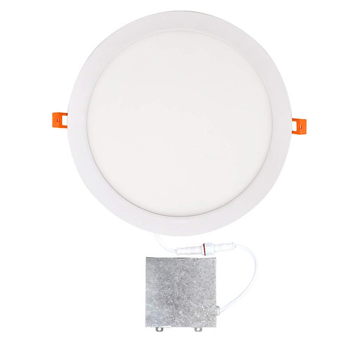 "LED Panel Light 12"" Round 5000K"