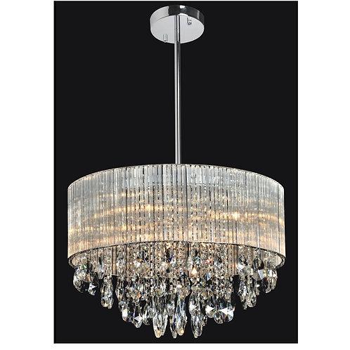 6 Light Crystal Chandelier(G9) 2 Pin 40W
