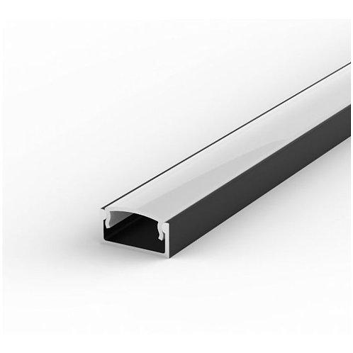 2.9M(9FT 6IN)  Surfacemount Black Aluminum Profile