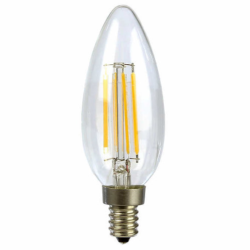 Luminus LED 4W = 40W B11Bulb E12 2700K Dimmable
