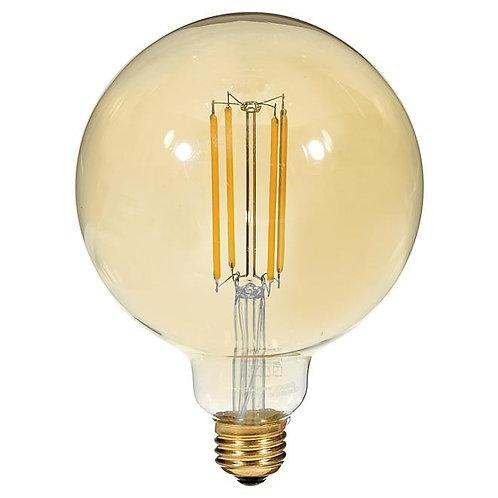 Filament LED bulb - 4.5W/G40 - Candle Light