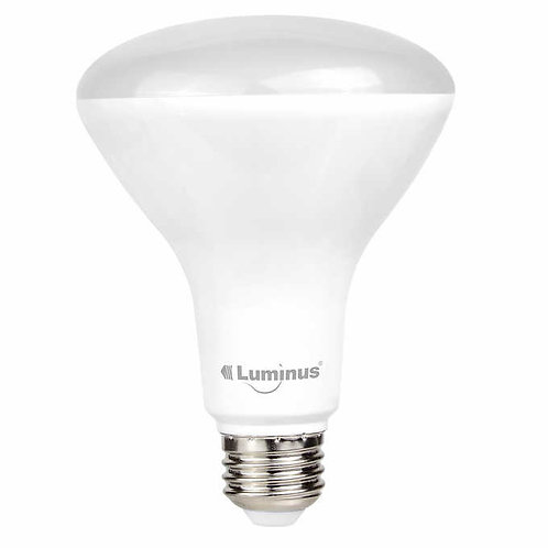 Luminus LED 17W=100W BR40 Bulb 5000K Dimmable