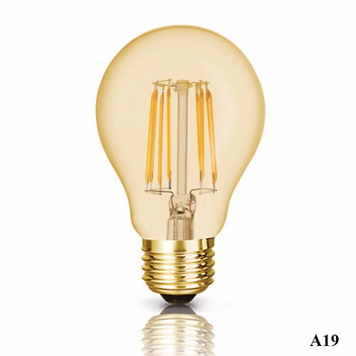 Luminus LED 4.5W = 40W A19 Vintage Bulb 2200K Dimmable