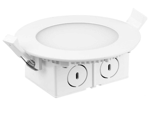 Luminus 4'' LED Slim Panel with Integrated Junction Box (2700K)