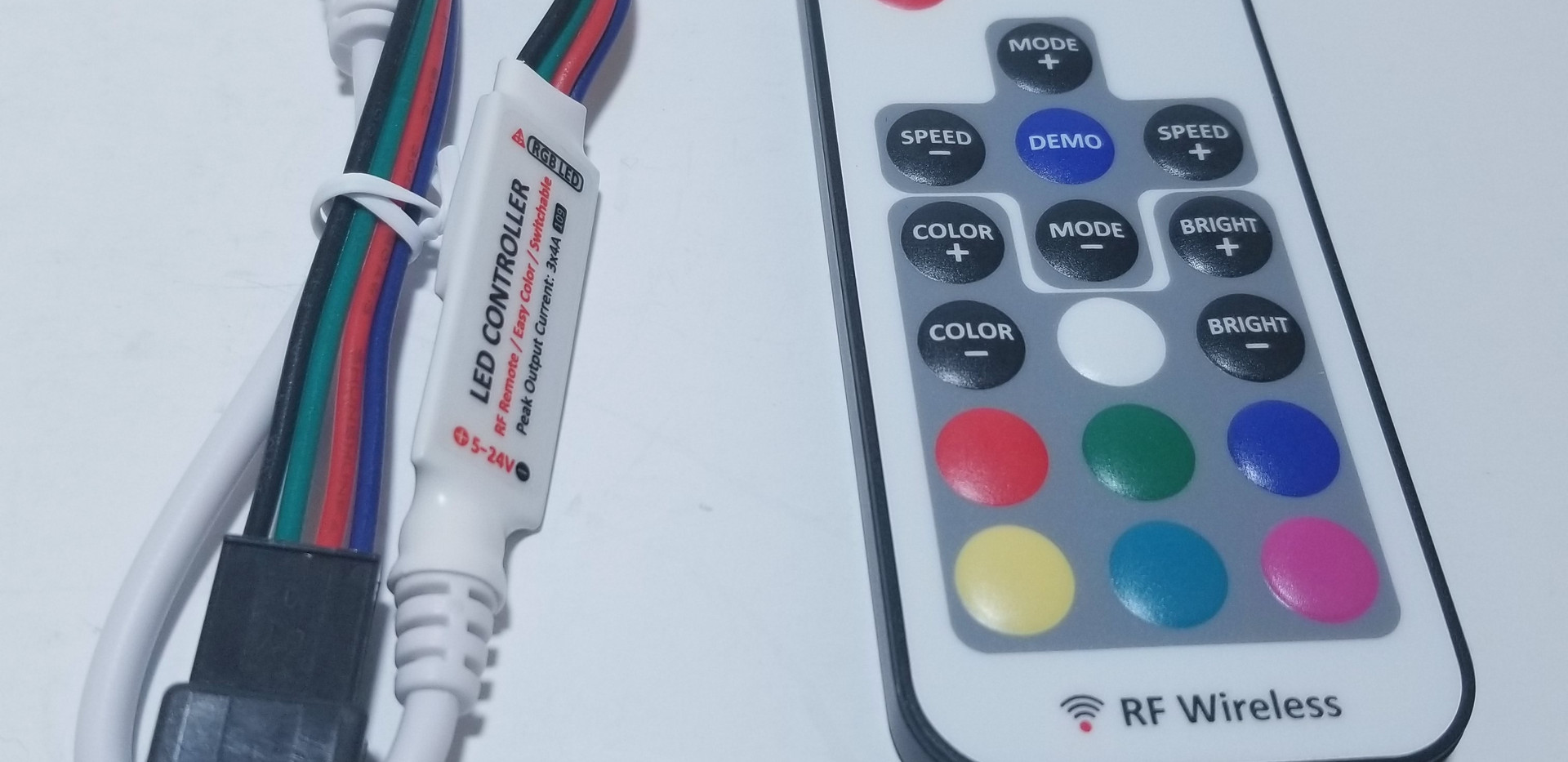 RF Wireless LED Controller