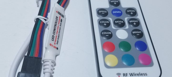 RF Wireless LED Controller