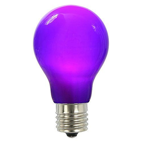 Luminus LED 4.5W Purple A19 Filament Dimmable