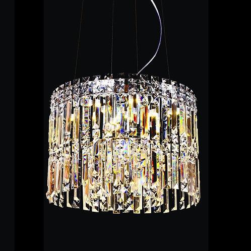 9 Light Crystal Chandelier (E12)