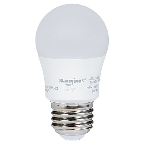 5.5 W LED A15 Bulb - Non Dimmable - Warm White