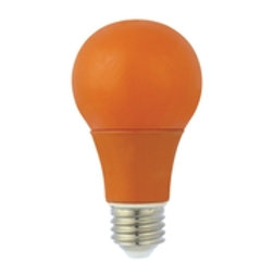 Luminus LED 6W A19 Amber Bulb Non-Dimmable