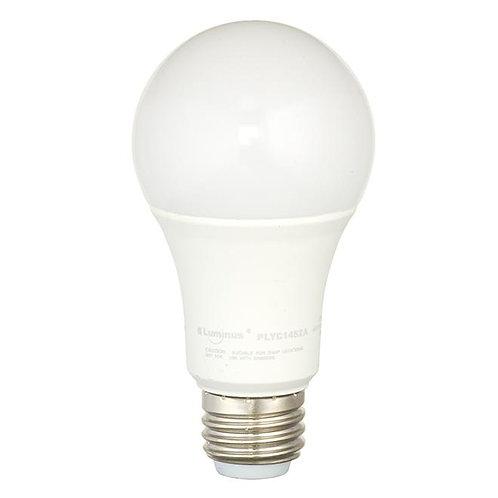Luminus(R) A19 LED Bulb - 4-8-14 W - Warm White