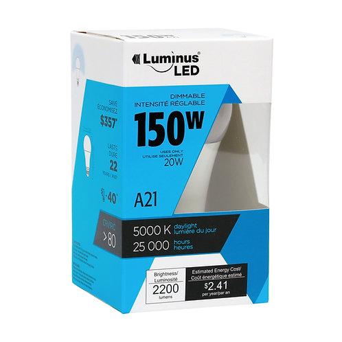 Luminus LED 20 Watt A21 5000K Bulb