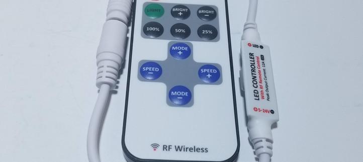RF Wireless LED Strip Light Controller