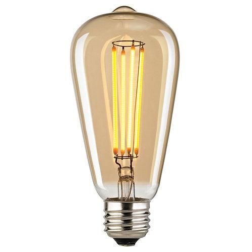 Filament LED bulb - 5W/ST19 - Candle Light
