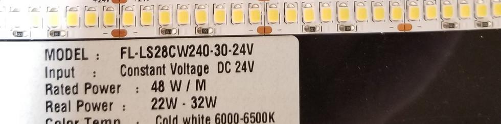 24V Cool white