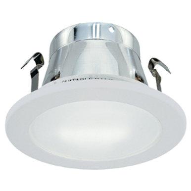 4 Inch Par16/Gu10  Gloss White Shower Trim