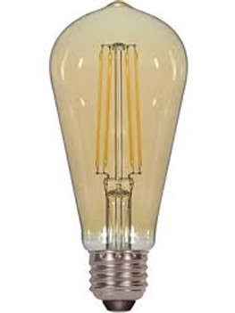 Luminus LED 5W = 40W ST19 Vintage Bulb 2200K Dimmable
