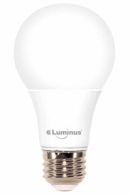 Luminus - 11W (75W) 1100 Lumens 3000K Dimmable Led Light Bulb-2 Pack, A19 Omni