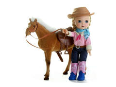 10 inch western girl and horse_preview.j