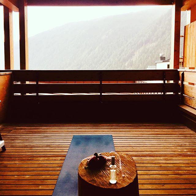 Mein Yogaplatz der letzten Tage, ⛰ Berge