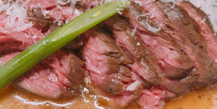 特選牛肉のソテー
