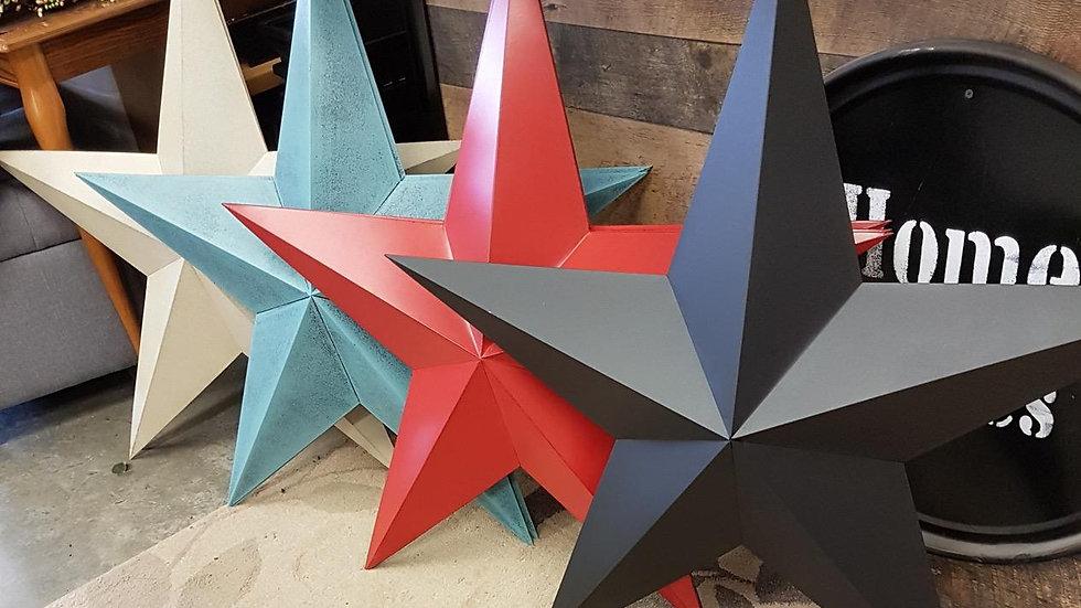 """36"""" Tin Stars"""