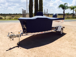 Boat Cover and Stone Guard 1