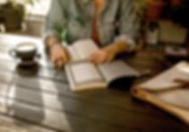 Vrouw schrijven