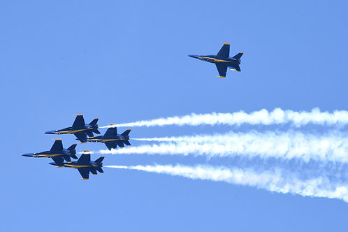 Blue Angels Photo Op