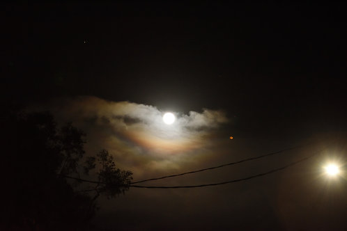 Wolf Moon Inverted Moonbow