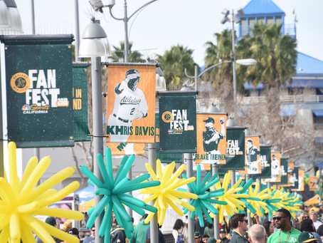 The Weekend That Was Oakland (Part One): Oakland A's FanFest 2019