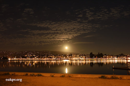 The Hunter Moon Over Oakland
