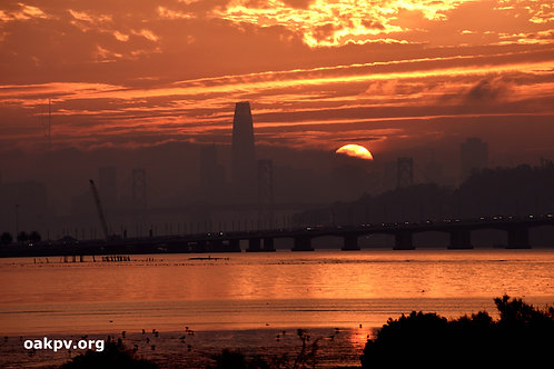 Sunday Sunset Over San Francisco