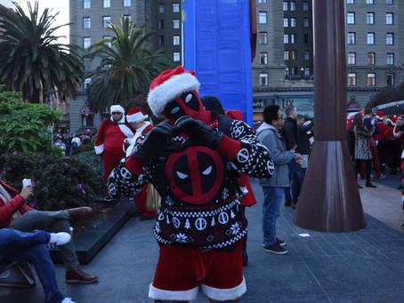 Santa Con 2018 Invades Union Square