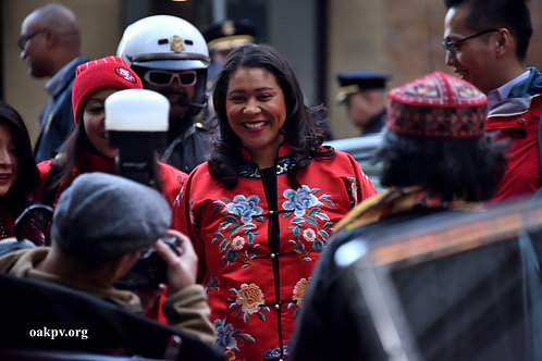 London Breed Not Worried About Covid-19
