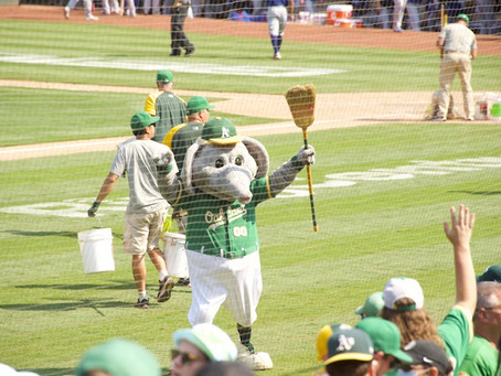 A Day At The A's Game...