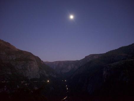 Thanksgiving Yosemite Road Trip