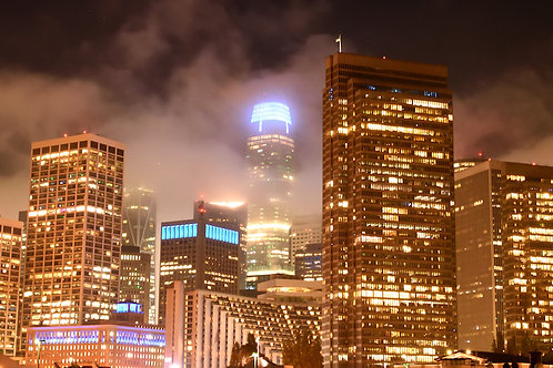 Karl The Fog Attacks The Salesforce Tower