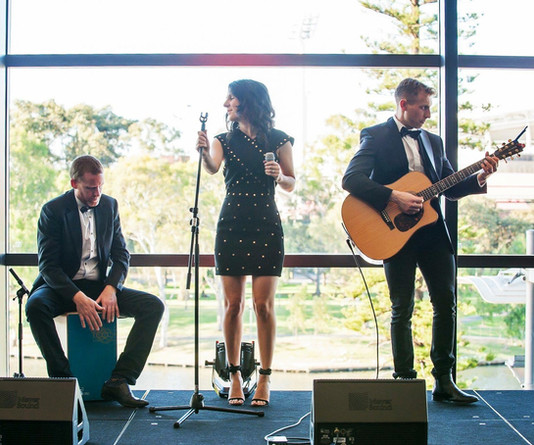 The Cast corporate band Adelaide