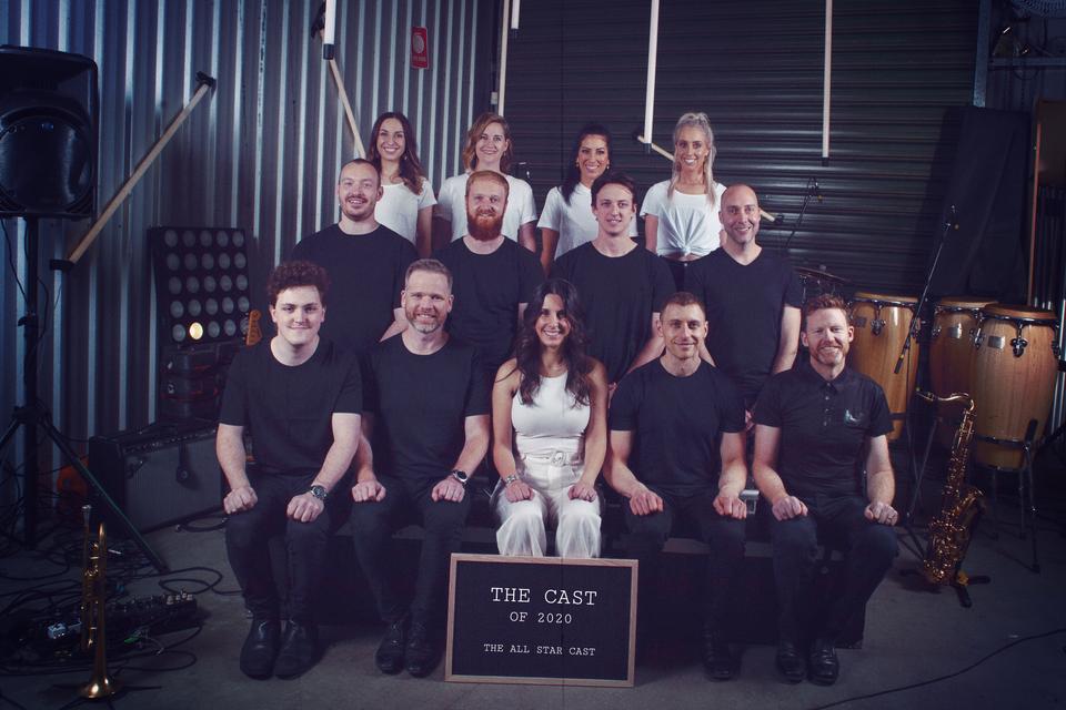 All Star Cast Class Shot