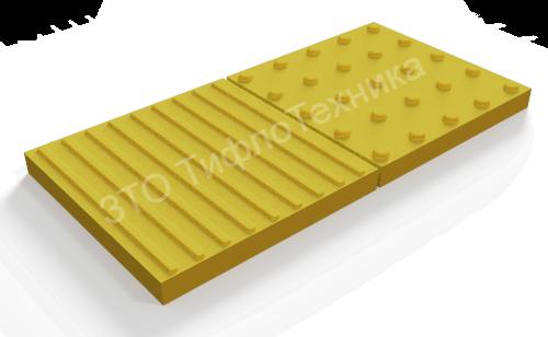 Тактильная плитка полимер бетон