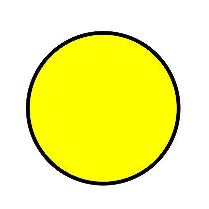 круг для слабовидящих