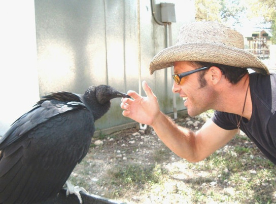 Production still from Animal Planet's, MY NEW WILD LIFE
