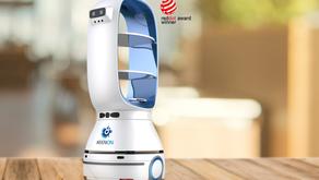 配送ロボット【KEENON ROBOT】のホームページを開設いたしました
