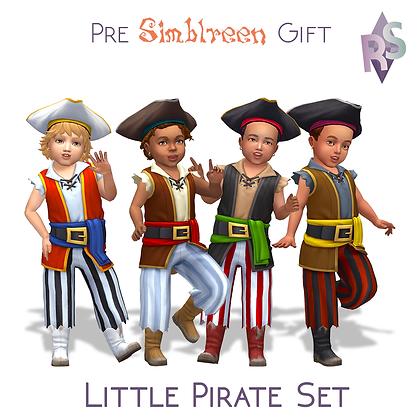 Little Pirate Set