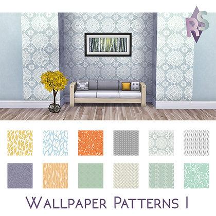Wallpaper neutral patterns Part I