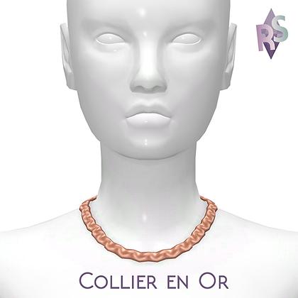 Collier En Or