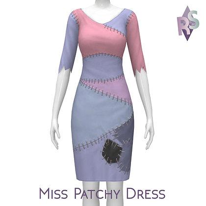 Simblreen Gift; Miss Patchy Dress